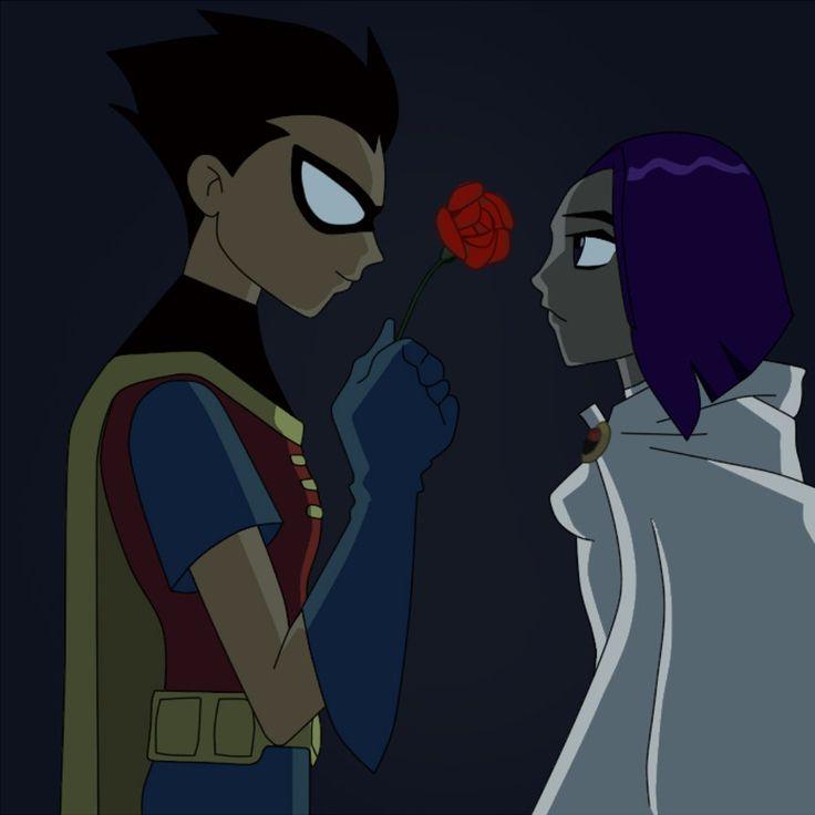Raven robin teen titans fan art