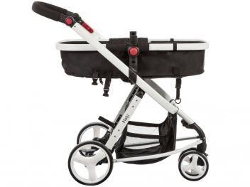Carrinho de Bebê Passeio Safety 1st Travel System - Mobi Reclinável 3 Posições com Bebê Conforto