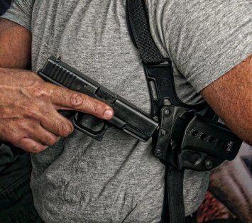Fobus Under Shoulder Holster Case Horizontal/Vertical Hidden Harness Strap Kimber 45 w/rails HandGun Pistol FireArm Conceal Carry