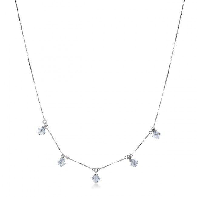 Srebrny Naszyjnik z Cyrkonią, 45 PLN, www.Bejewel.me/srebrny-naszyjnik-z-cyrkonia-1602. #jewellery #silver #bejewelme #bjwlme #shoponline #accesories #pretty #style