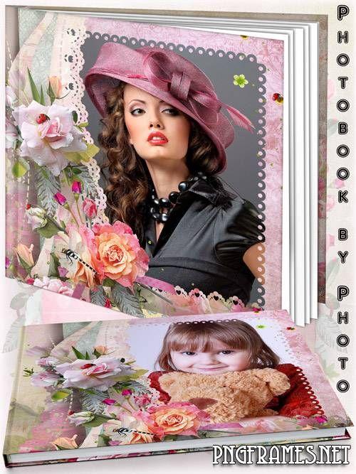 Flower photo book - The ocean of roses