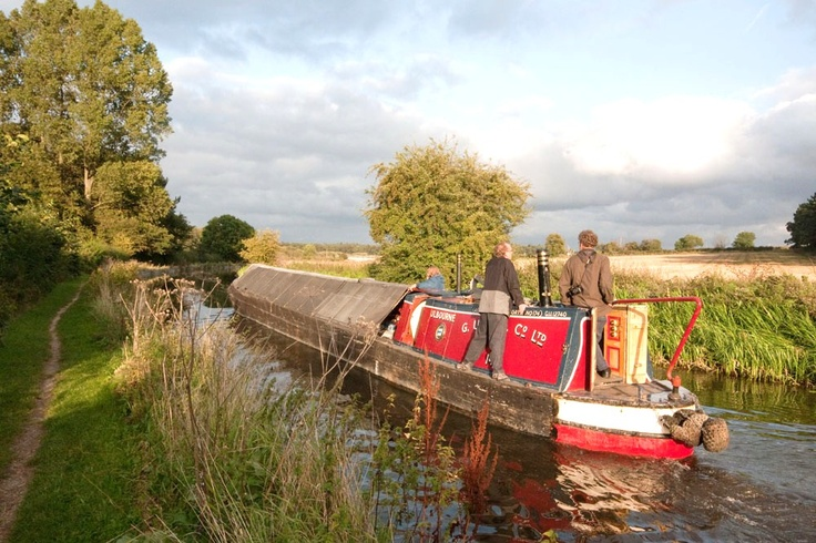 Chesterfield Canal - Derbyshire - England. English canals, you can't beat them, whether being on the boat or walking the towpaths.
