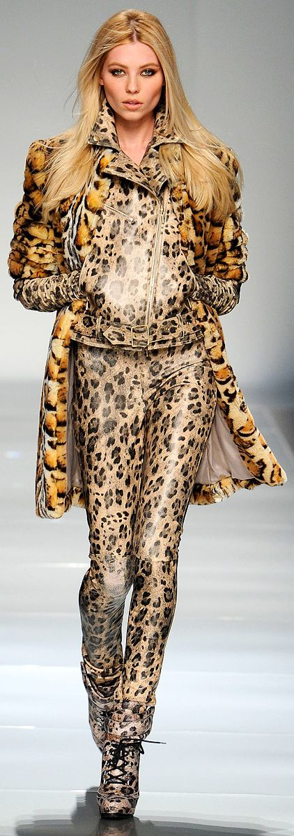 Unique Animal Print RTW Couture from Blumarine :: Fall RTW ♥