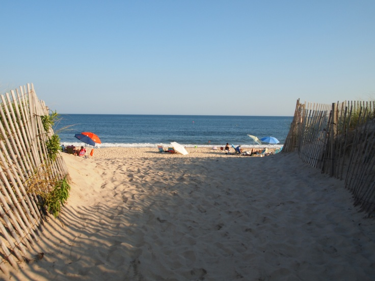 Hampton's Beach, New Hampshire...The beach I grew up going too. Many sandcastles and sunburns!!
