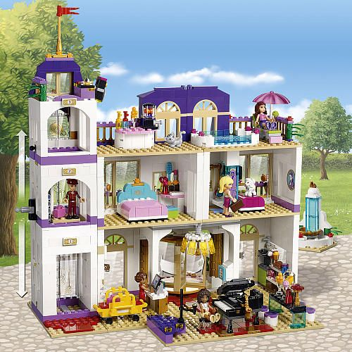 Toys R Us Legos For Girls : Lego friends heartlake grand hotel toys quot r