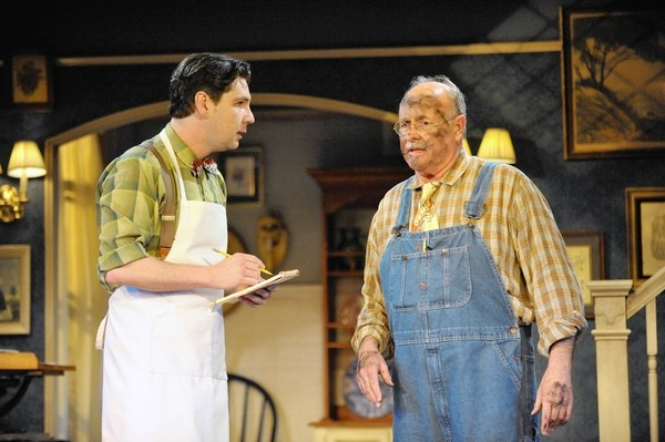 """Mike Giuliano's Review of """"You Can't Take It With You""""  """"Audiences during the Great Depression had their spirits lifted by 'You Can't Take It With You...The lively Everyman Theatre production seems likely to have the same uplifting effect for audiences during our lingering Great Recession."""""""