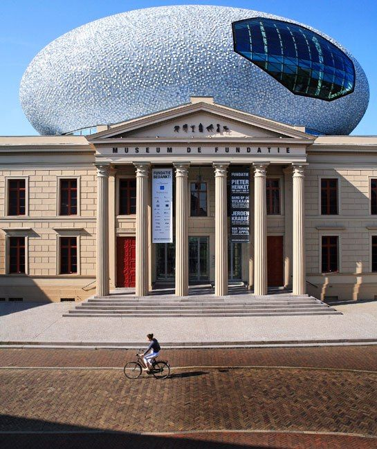 Historic and Ultramodern Architecture Merge at the Netherlands' Museum de Fundatie