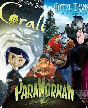 Halloween Animated Trifecta - Coraline, ParaNorman and Hotel Transylvania