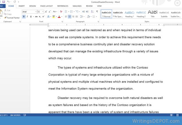 Format for mla style research paper