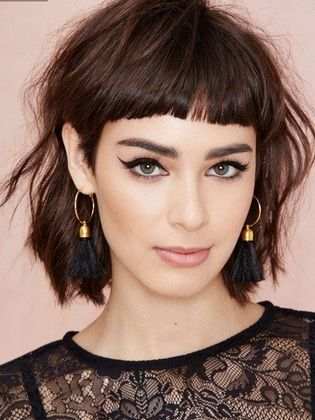 Women's hairstyles with bangs for short, medium and long hair
