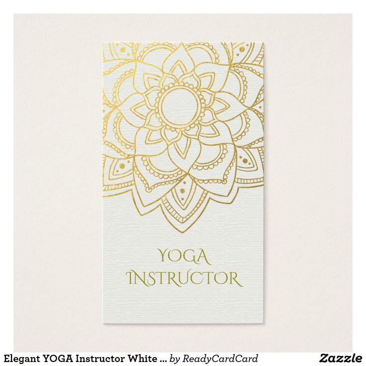 43 best Yoga And Meditation Business Cards images on Pinterest - yoga instructor resume