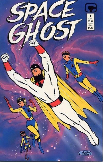 Space Ghost - Steve Rude   Space Ghost   Cartoon ...