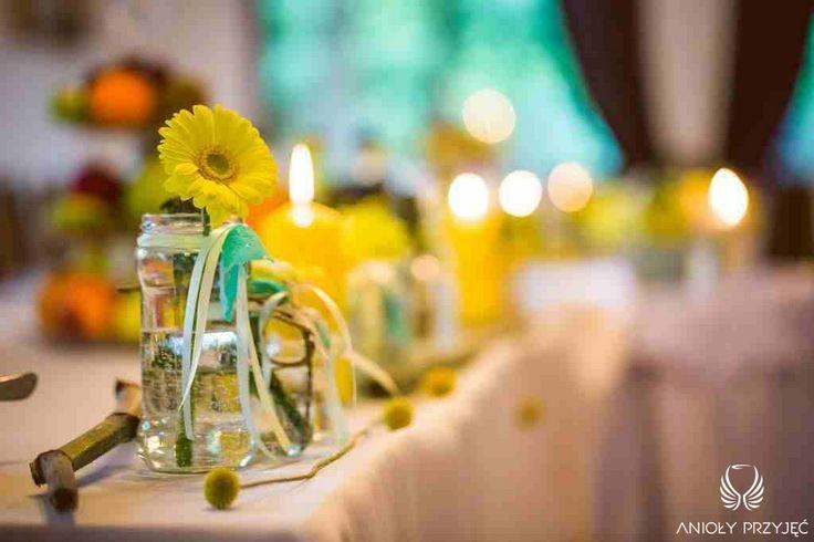 10. Green Wedding,Centepieces / Wesele w zieleni,Dekoracje stołu,Anioły Przyjęć