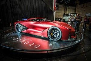 Nissan concept 2020 vision gran turismo la visión de Nissan del superauto del futuro