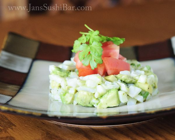 Avocado and Scallop Ceviche