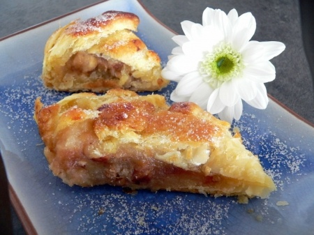 Feuilleté aux pommes: Desserts, Dried Fruit, Recipe, Apple, Apple, Kitchen
