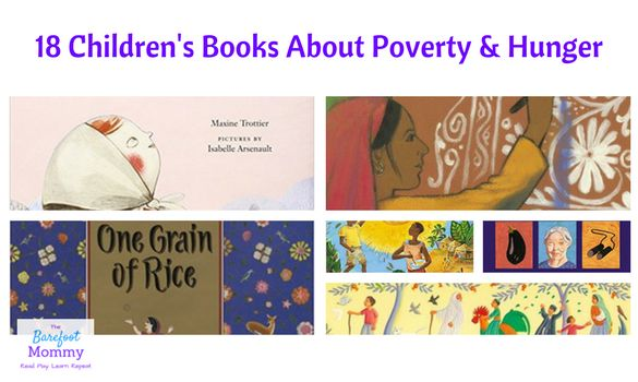Help kids explore the poverty and hunger using this collection of picture books & chapter books. Sign up for our 5 day Ending Hunger Kids' challenge.