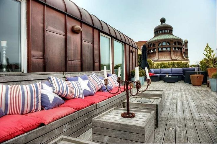<3: La Boheme, Outdoor Living, Balconies, Nygatan 53 Malmö, Diy Outdoor, Terraces Decks, Outdoor Spaces, Rooftops Terraces, Malmö Cities