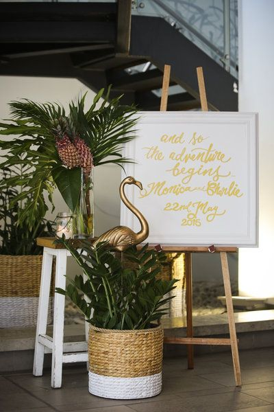 Calligraphy is a top 2015 wedding trend!