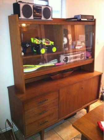 GREAT Mid Century Teak Hutch And Credenza On Vancouver Craigslist