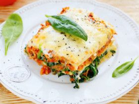 Gemüselasagne - Rezepte - Ernährung bei Morbus Crohn und Colitis ulcerosa