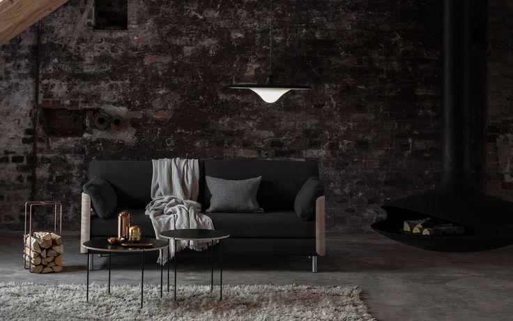 Tapio Anttila Collection –ON sofa bed, TREK pendant lamp, Mixrack table, Mixrack rack