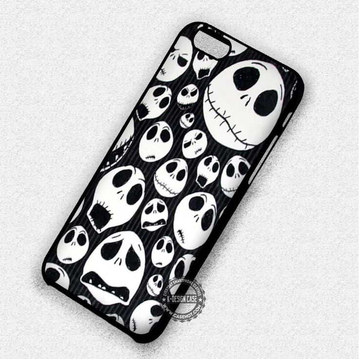 White Pattern Jack - iPhone 7 6 5 4 Cases & Covers