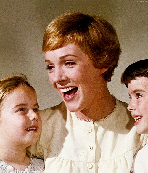 Julie Andrews as Maria: The Sound of Music