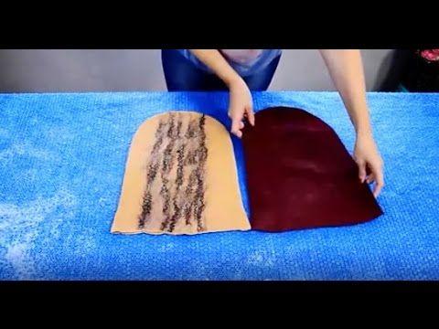 Валяние из шерсти  ✿  Шапочка  бини или клош  ✿  МК Татьяны Томера и Виктории Ивановой - YouTube
