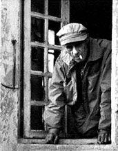 Roger Bissière à Boissiérettes, circa 1952