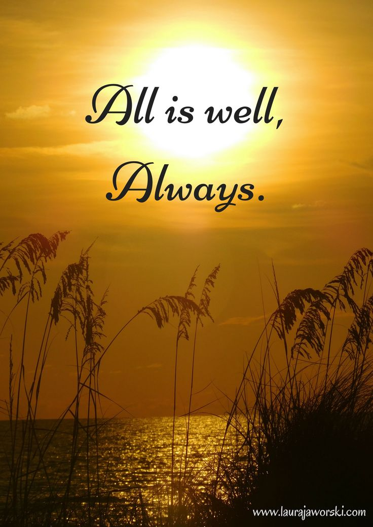 All Is Well ♥ | www.laurajaworski.com