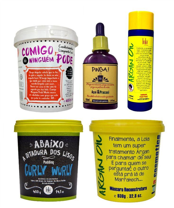 Como montar um kit SOS Cabelos Danificados para No e Low Poo com Lola Cosmetics