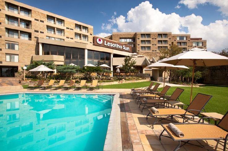 Lesotho Sun Hotel - Best business hotel in #Maseru