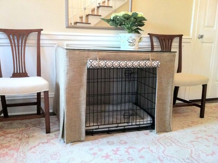 Attractive Tally Dog Crate Table