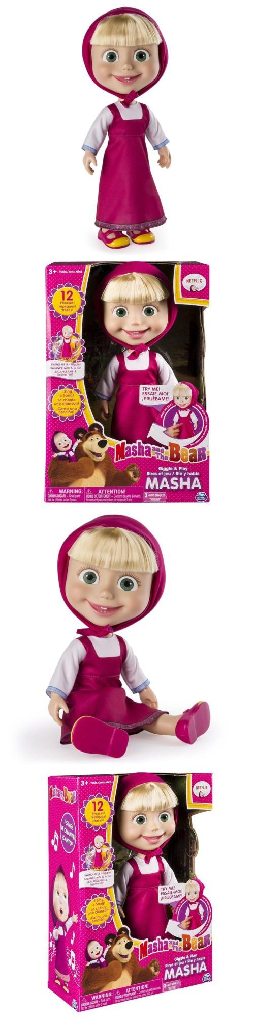 """Dolls And Bears: Masha And The Bear - 12"""" Giggle And Play Masha - Interactive Doll -> BUY IT NOW ONLY: $19.71 on eBay!"""