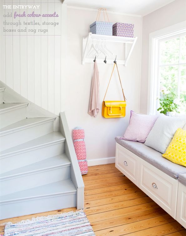 Home Tour: Colourful Swedish Cottage