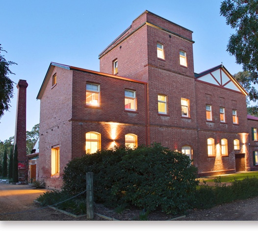 Euroa Butter Factory, gorgeous building restored into gorgeous accommodation.