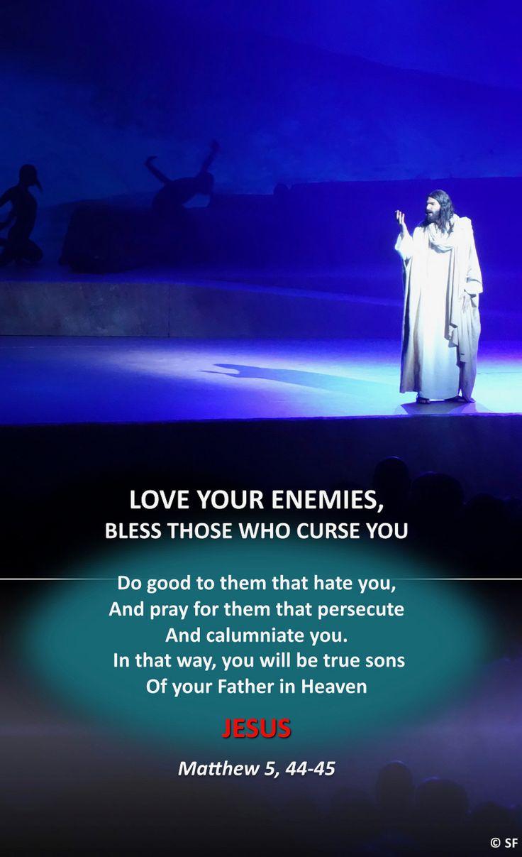 https://flic.kr/p/21PuMkJ   Matthew 5, 44-45   Ebenezer Halleluiah Creation JESUS show, Palais des Sports de Paris 29th of october, 2017