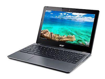 """Acer Black 11.6"""" C740C3P1 Chromebook PC 2 GB Memory 16GB"""