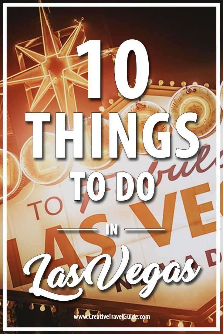 Las Vegas is just incredible and offers so many things to see and do. We love it so much we are planning our wedding there! It is a place you can go and have fun, relax and let lose a bit. On that note, here are 10 things to do in Las Vegas.