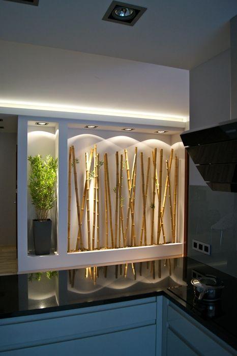 Zamiast akwarium, bambus