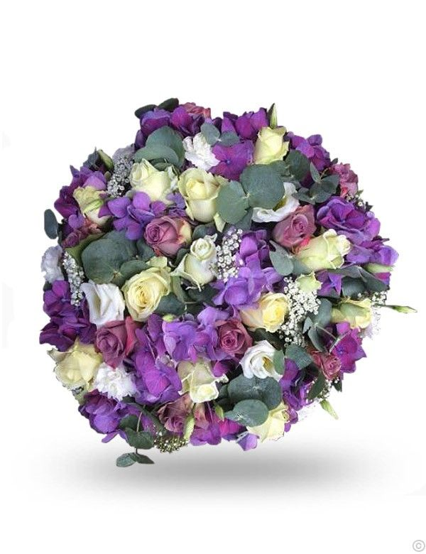 Funeral Roses And Hydrangea Funeral Flowers Flower Delivery Uk Flowers Delivered Anniversary Flowers
