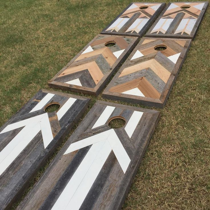New Cornhole designs from simple to more intricate. Backed with marine grade…