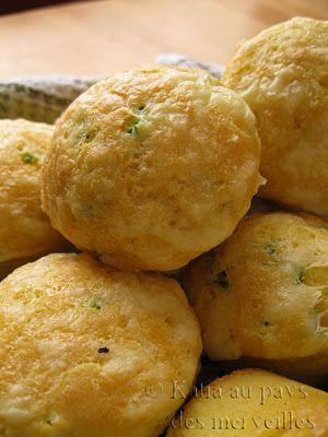 Petits pains de maïs au jalapeno