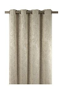 LEAF BLOCK OUT 145X225CM EYELET CURTAIN