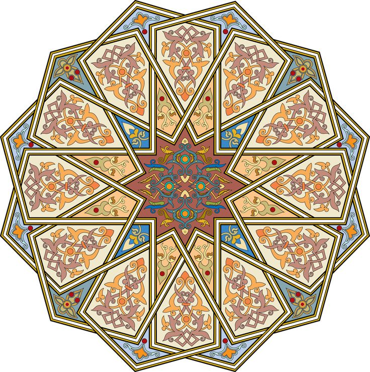 2-Arabesque (Islamic Art)