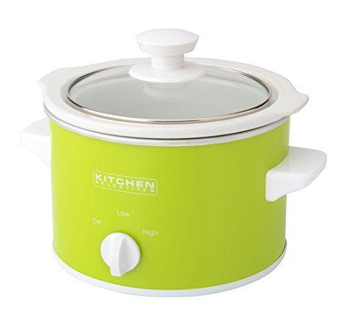 Kitchen selectives slow cooker 1 5 quart green kitchen - Capital kitchen appliances ...