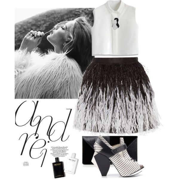 ... by r-dereli on Polyvore featuring polyvore, fashion, style, Chicwish, Alice + Olivia, Abcense, UN United Nude and Jewel Exclusive