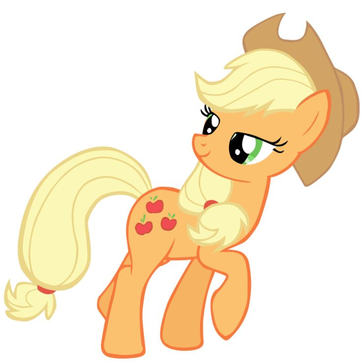 my little pony apple jack - Apple Jack. Warm hues, medium contrast between hair and 'skin', green eyes, freckles, outdoorsy and practical temperament. Secondary 1 possible with roundness of eye and friendly candor.