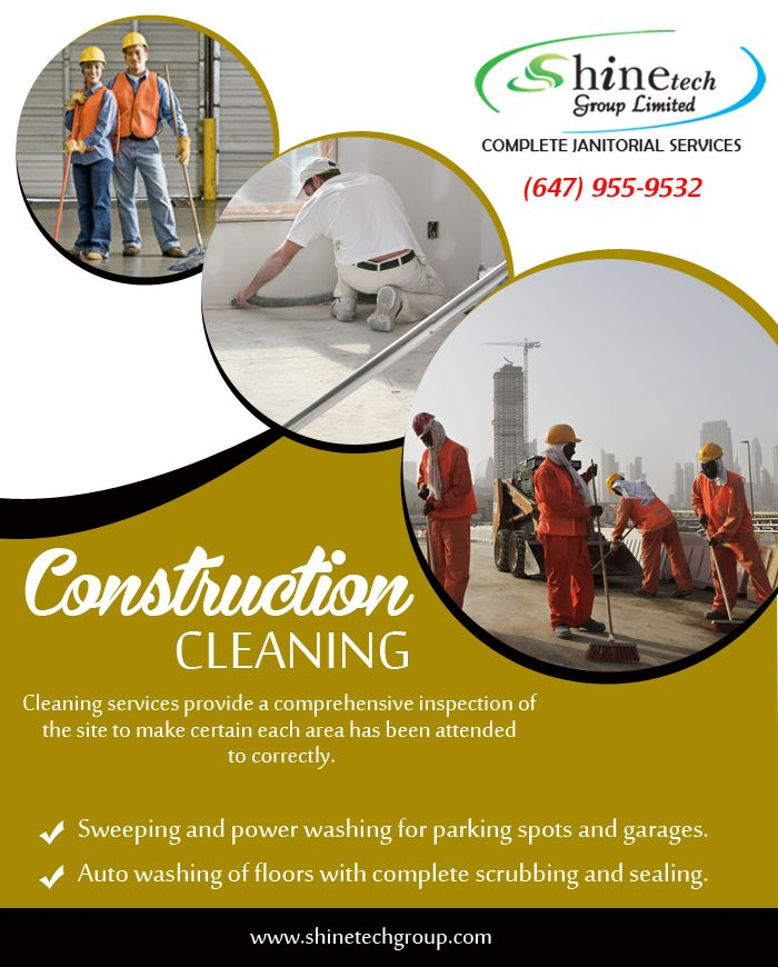 A #ConstructionCleaningServices #Toronto can save you from the stressful process of cleaning, especially hard to reach areas.